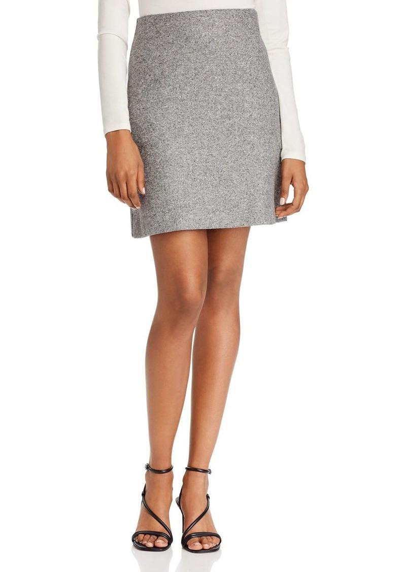 Theory Wool Blend Pencil Skirt