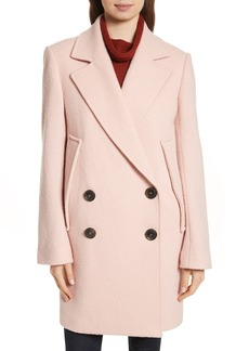 Theory Wool Bouclé Coat