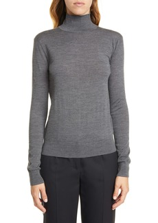 Theory Wool Mock Neck Sweater