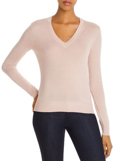 Theory Wool V-Neck Top
