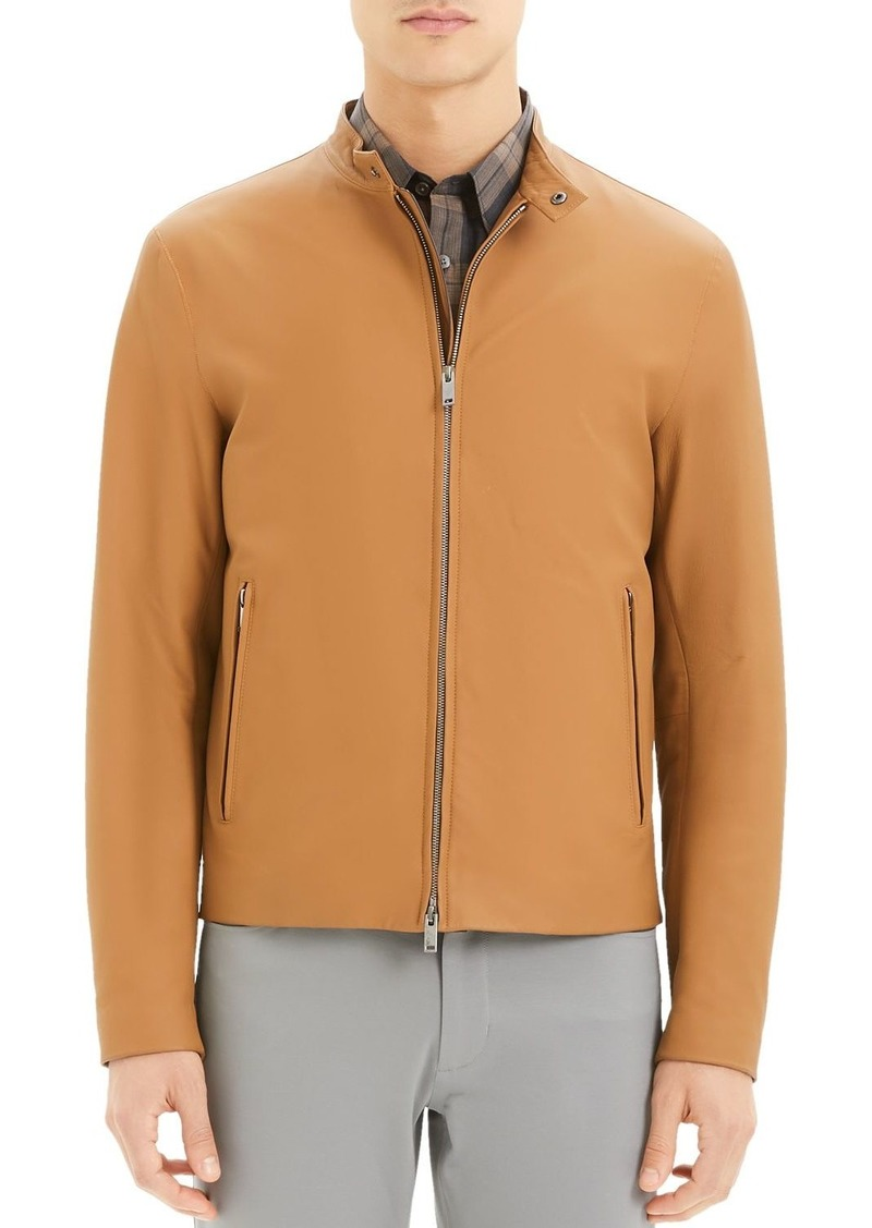 Theory Wyndsor Regular Fit Moto Jacket