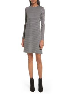 Theory Wynter Houndstooth Knit Dress