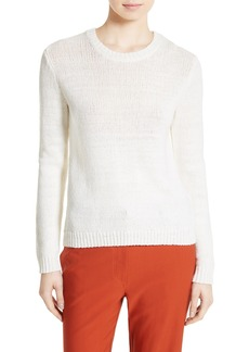 Theory Yulia Summer Bouclé Merino Wool Sweater