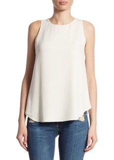 Theory Zabetha Silk Top