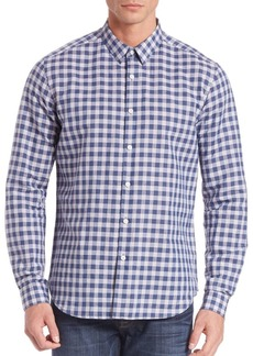 Theory Zack Bowrey Check Shirt