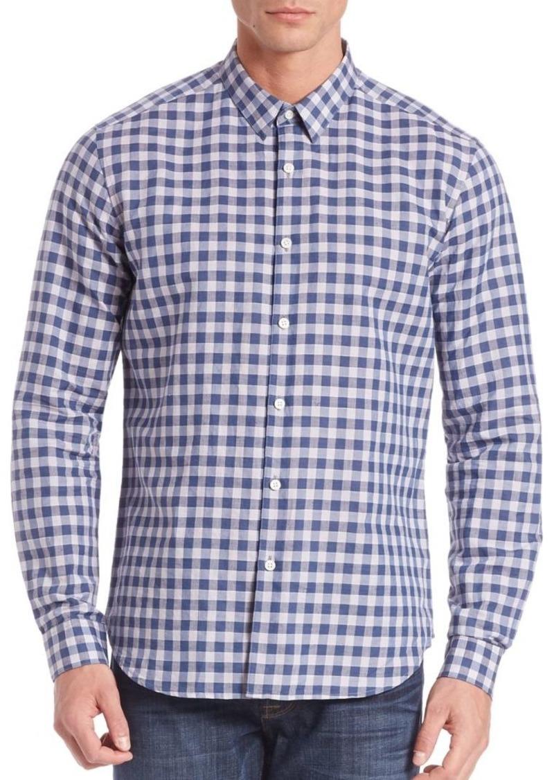 Theory Zack Bowrey Check Shirt Casual Shirts Shop It To Me