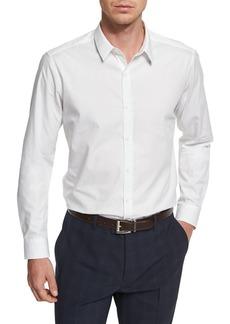 Theory Zack PS Norwich Tonal Jacquard Sport Shirt