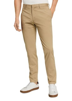 Theory Zaine Slub Poplin Slim Fit Chinos