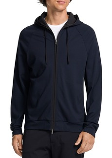 Theory Zip Front Hoodie