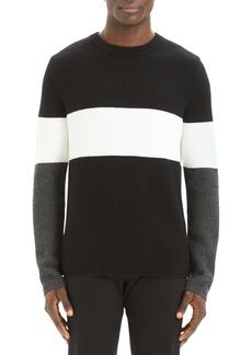 Theory Zoren Regular Fit Colorblock Cashwool® Pullover