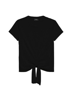 Theory Tie-Front T-Shirt