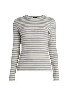 Theory Tiny Long-Sleeve T-Shirt