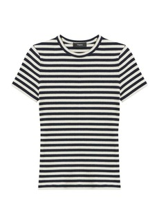 Theory Tiny Striped T-Shirt