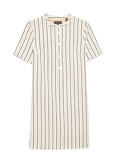 Theory Trapeze Stripe Mini Dress