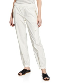 Theory Travel Cotton Cargo Pants