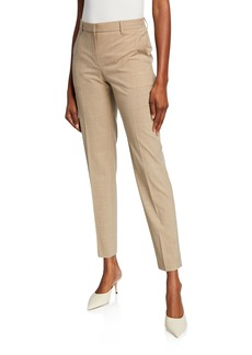 Theory Travel Wool Tailored Trousers