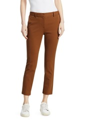 Theory Treeca 2 Straight Leg Ankle Trousers