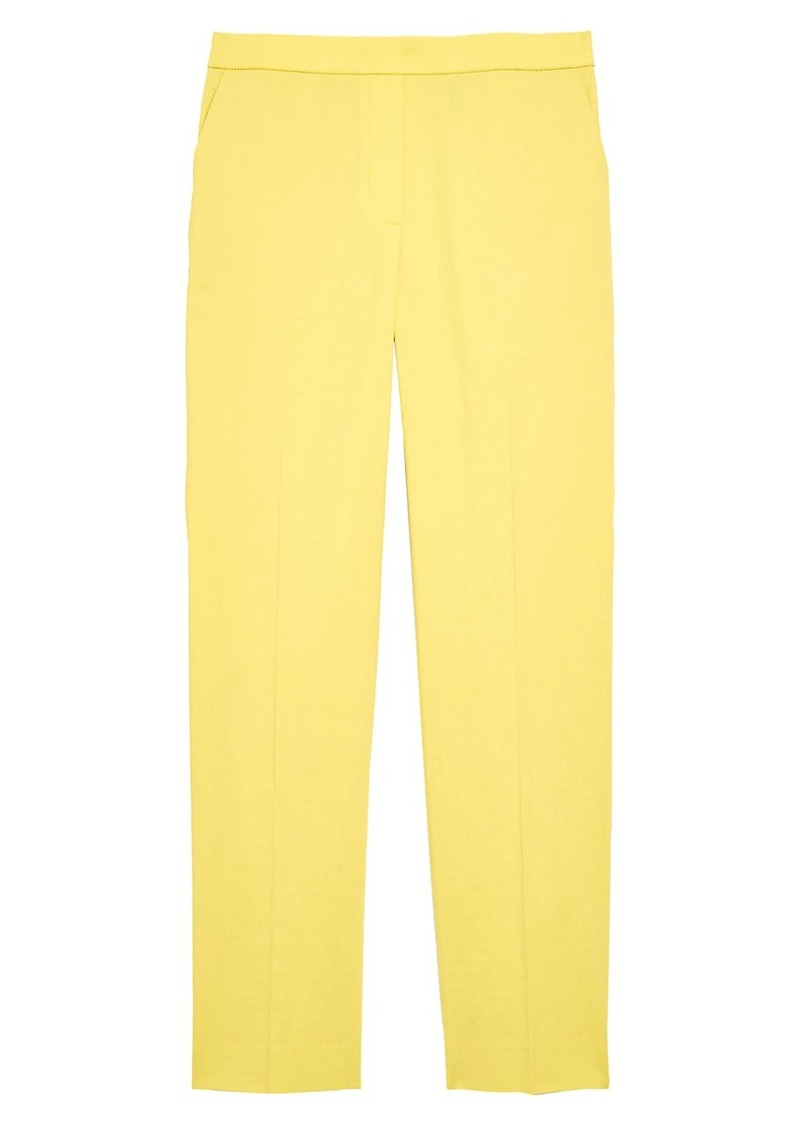 Theory Treeca Pull-On Crop Pants