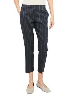 Theory Treeca Pull-On Pinstripe Pants