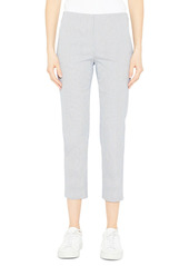 Theory Treeca Rail Cotton Pants
