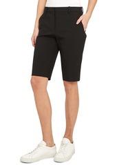 Theory Treeca Straight-Leg Shorts