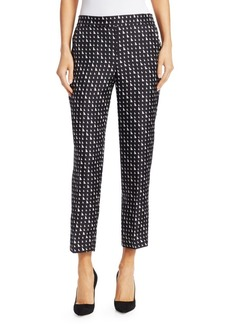 Theory Triangle Silk Trousers