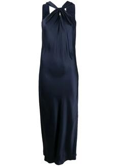 Theory twisted slip dress
