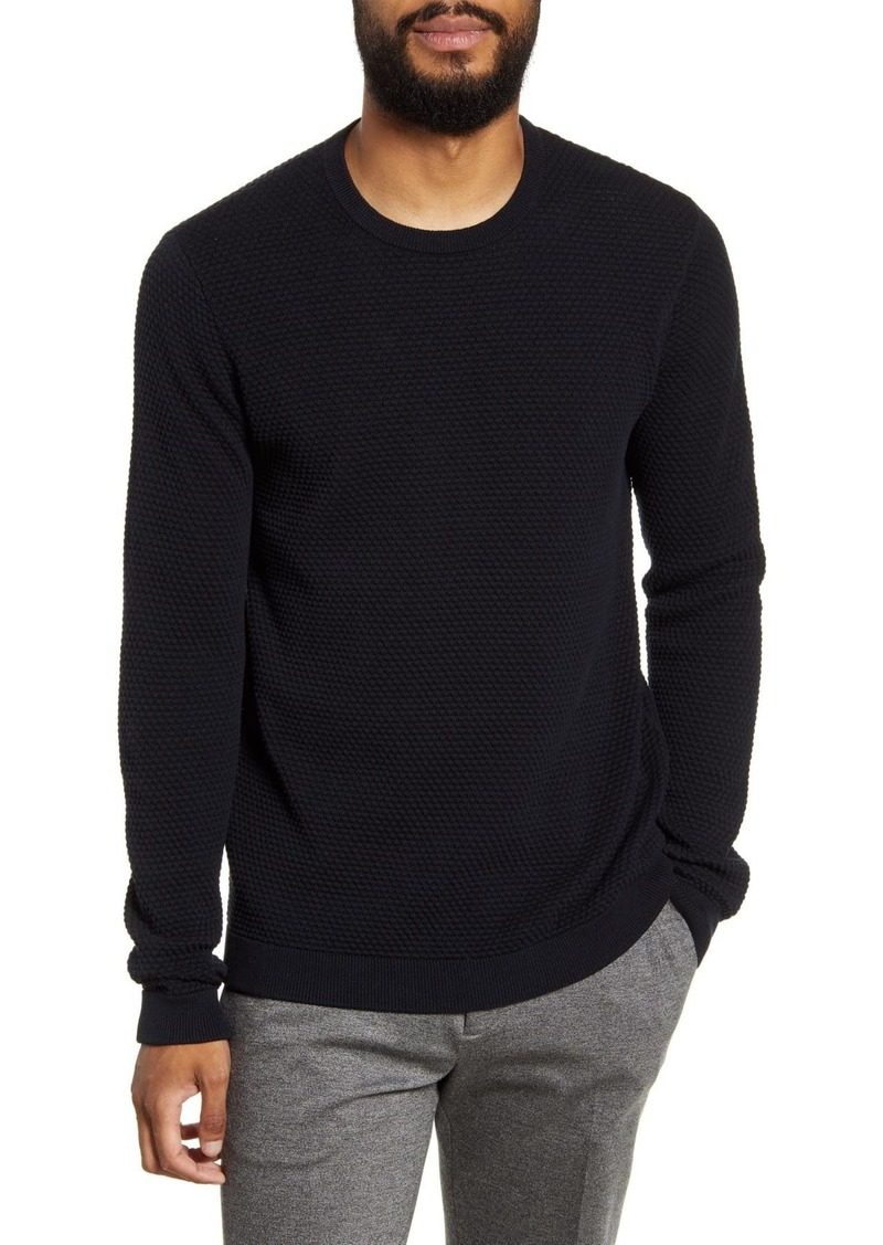 Theory Udeval Crew Breach Slim Fit Sweater