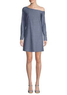 Theory Ulrika Chambray Shift Dress