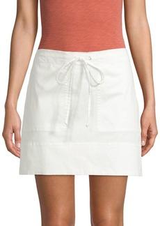 Theory Utilitarian Mini Skirt