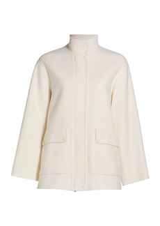 Theory Utility Luxe Wool & Cashmere Jacket