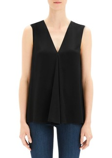 Theory V-Neck A-Line Top