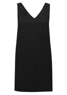 Theory V-Neck Shift Dress