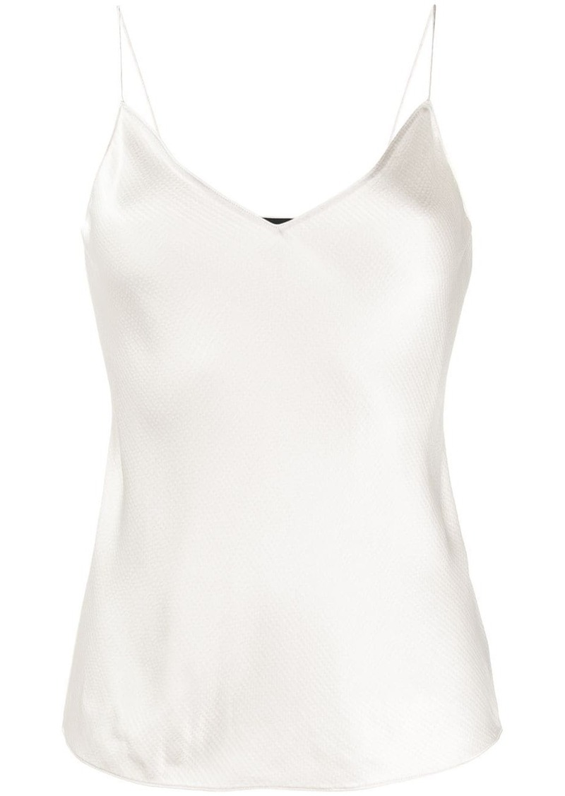 Theory V-neck slip top