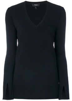 Theory V-neck top