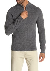 Theory Valles 1/4 Zip Cashmere Pullover