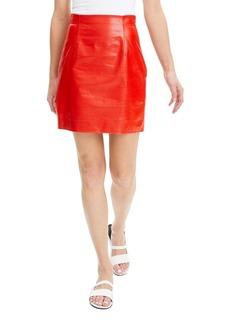 908e8782d3 Theory Irenah Saxton A-Line Mini Skirt Now $64.98