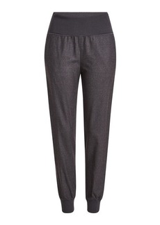 Theory Virgin Wool Jogger-Style Pants