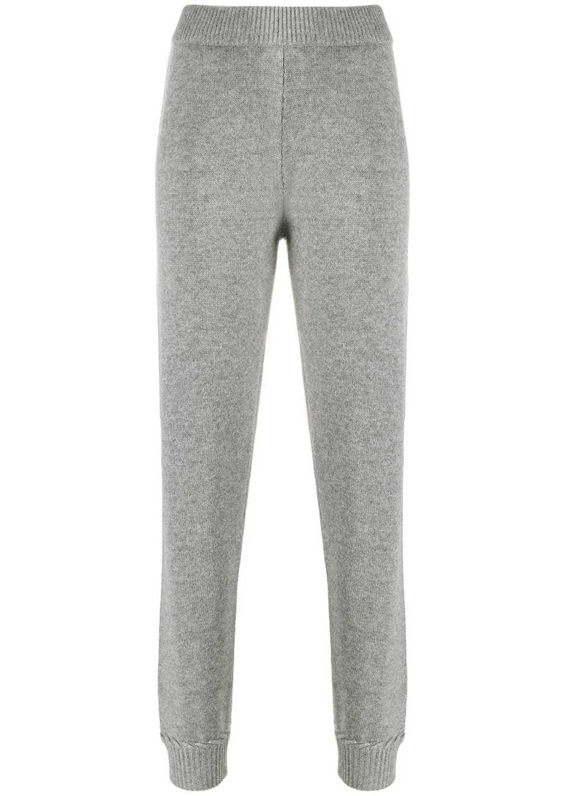 Theory whipstitch track trousers
