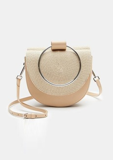 Theory Whitney Bag in Braided Raffia