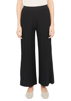 Theory Wide-Leg Ribbed Pants