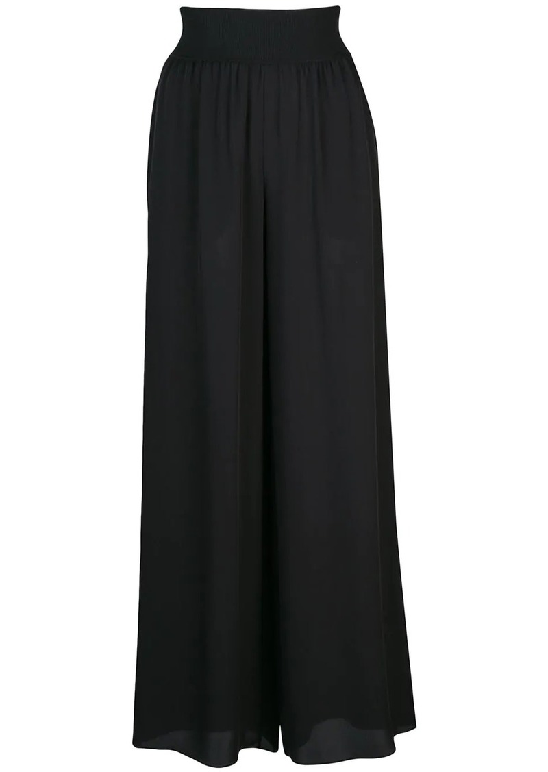 Theory wide-leg trousers
