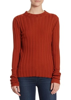 Theory Wide Rib Merino Wool Sweater