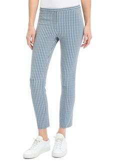 Theory Windowpane Classic Skinny Pants