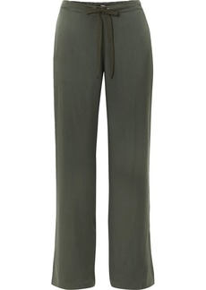 Theory Winszlee Washed-silk Pants