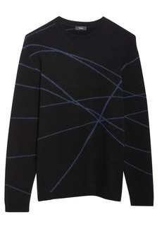 Theory Wizardaris Eclipse Wool-Blend Sweater