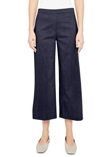 Women's Theory Pull-On Linen Blend Pants