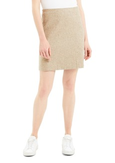 Theory Wool Blend Miniskirt