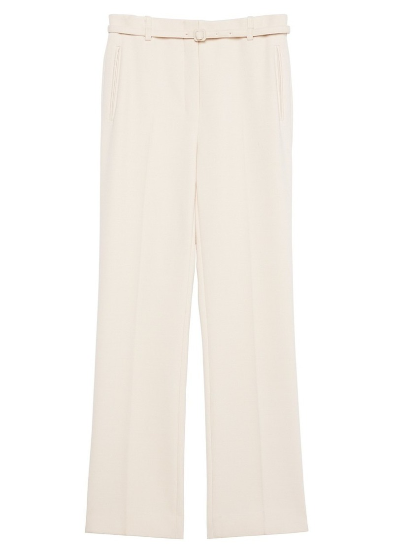 Theory Wool-Blend Straight Pants