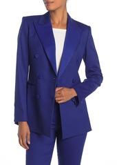 Theory Wool Blend Tuxedo Jacket